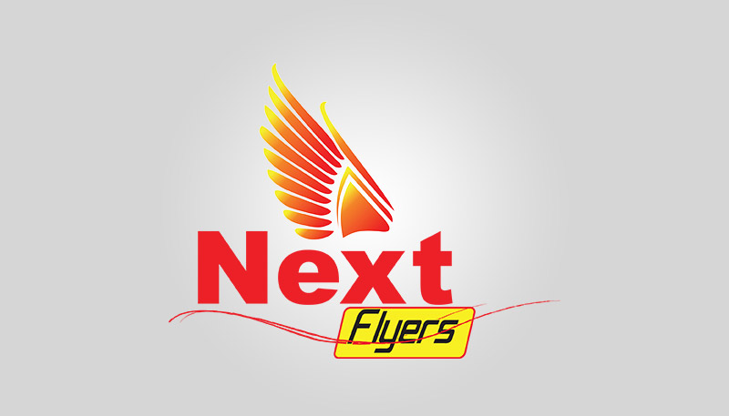 Next flyers logo design neel graphicsneel graphics for Design lago