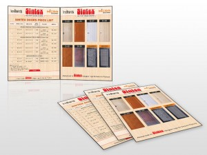 sindex-door-price-list-design